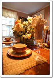 Staged dining room | Why do we call our Newsletter and Blog Turning Places Into Loving Spaces