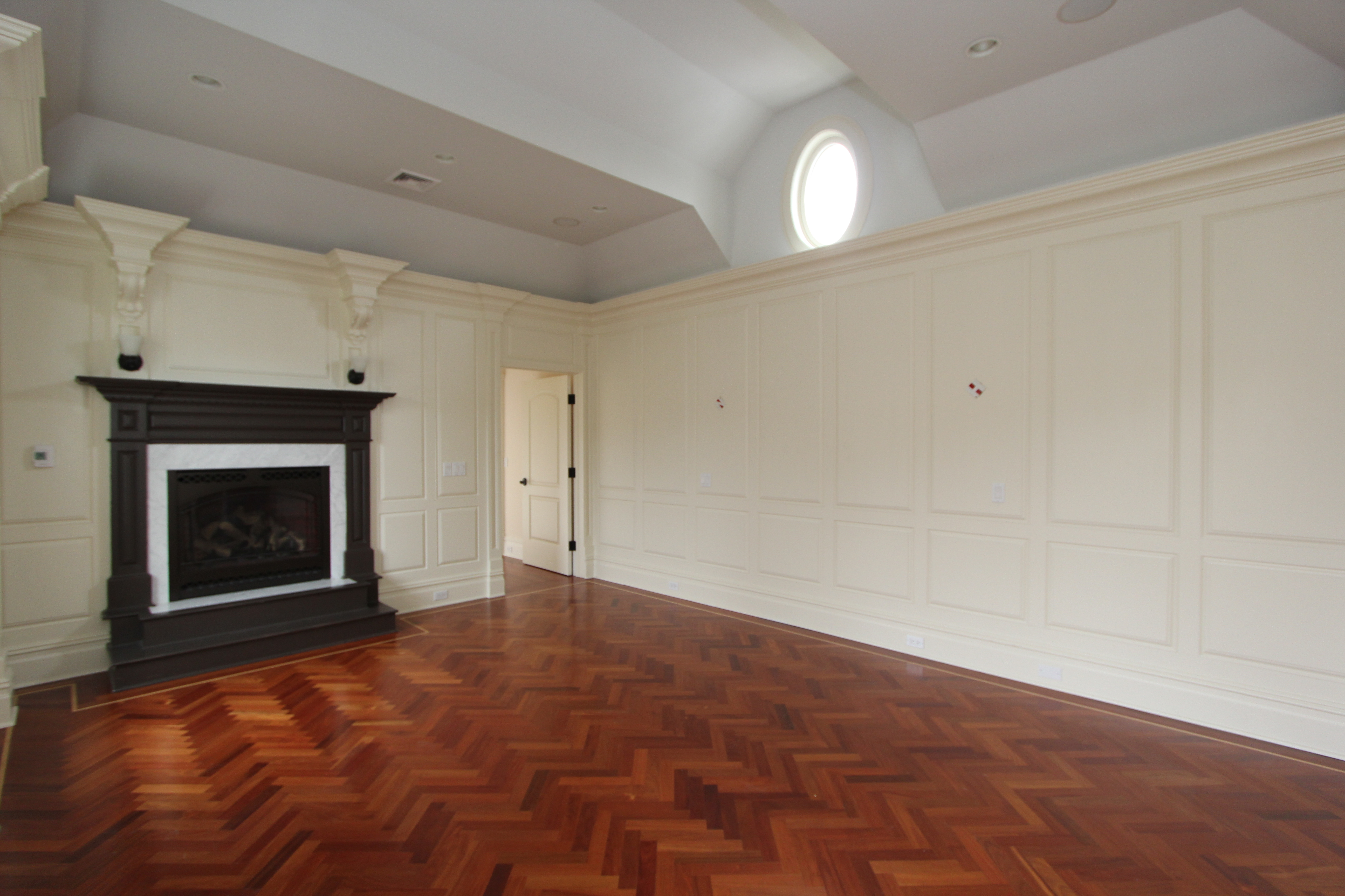 BEFORE staging a vacant room is hard to envision for buyers