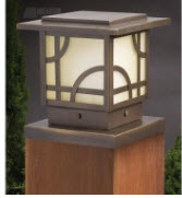 Andrea Traditional Outdoor Post Lantern