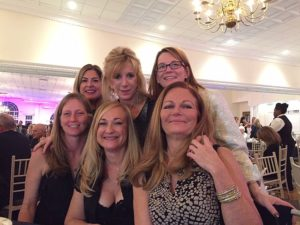 Ladies company at our awards table - so much fun!!