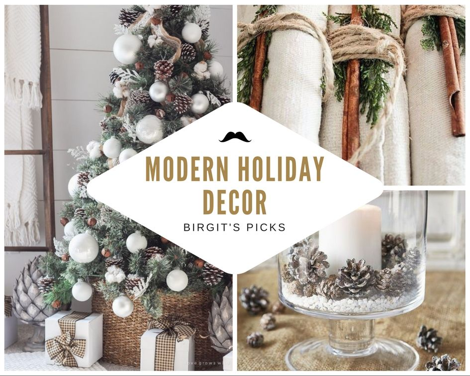 Modern Holiday Decorating Ideas Part - 23: Modern White Holiday Decor: