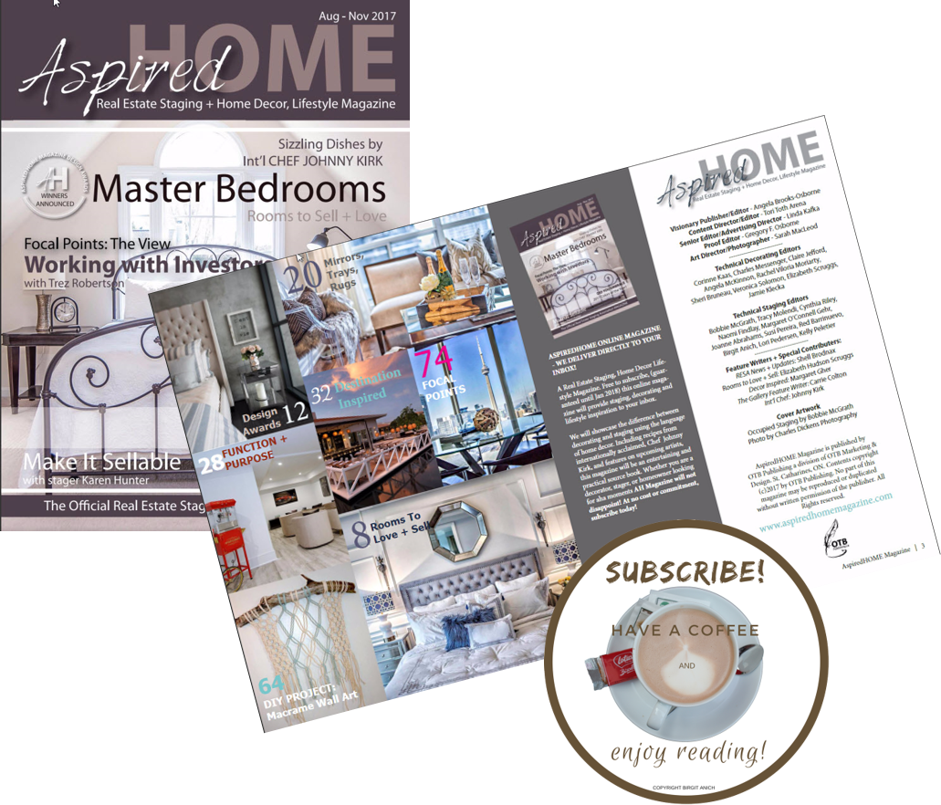 The First Home Staging Magazine Has Launched Ba Staging Interiors